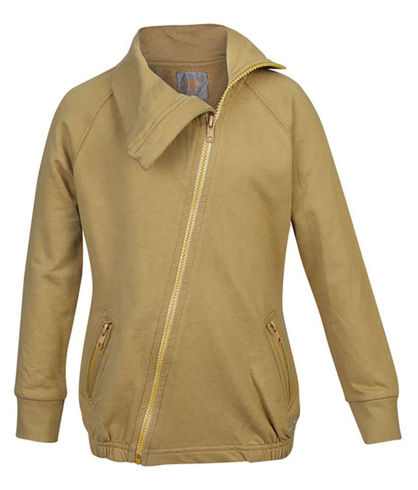 ELLO Khaki Without Hood Sweatshirt