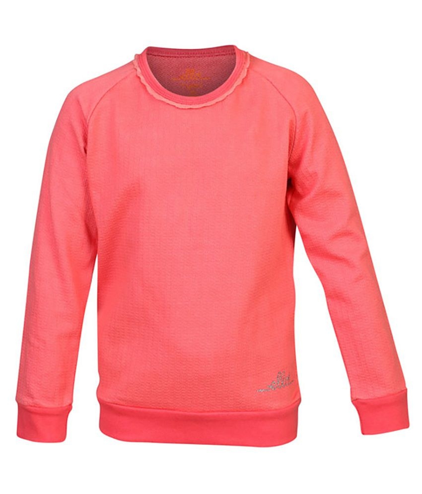 ELLO Pink Without Hood Sweatshirt