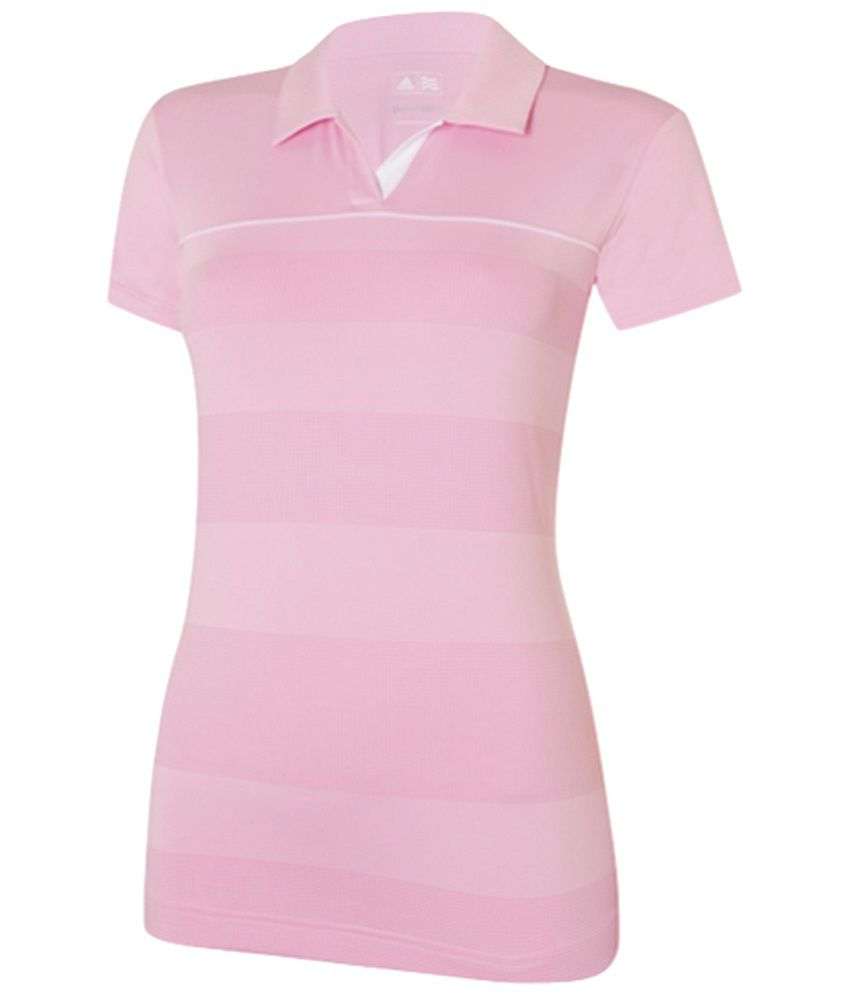 TaylorMade Pink Golf Polo T Shirt
