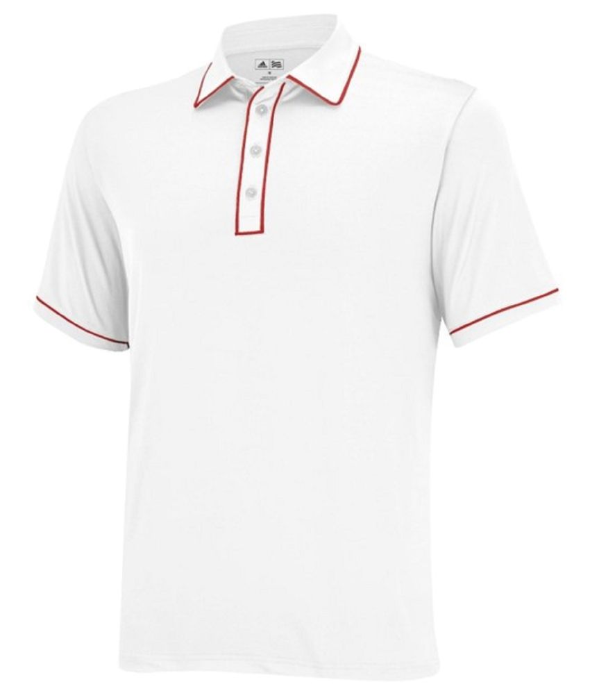TaylorMade White Golf Polo T Shirt