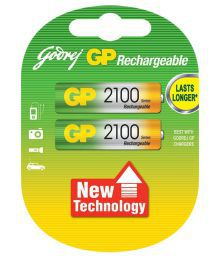 Godrej GP AA 2100 Ni-MH Rechargeable Battery