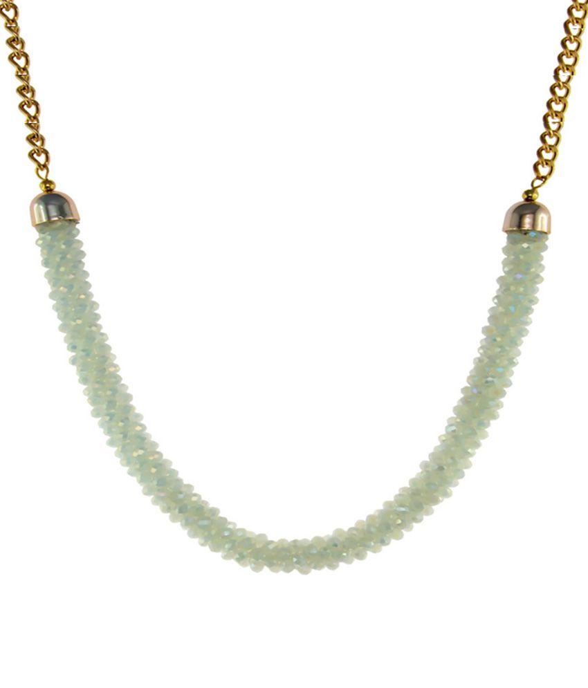 krafftwork White Alloy Necklace