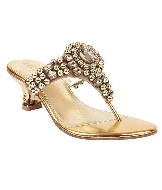 Liza Gold Slip-on