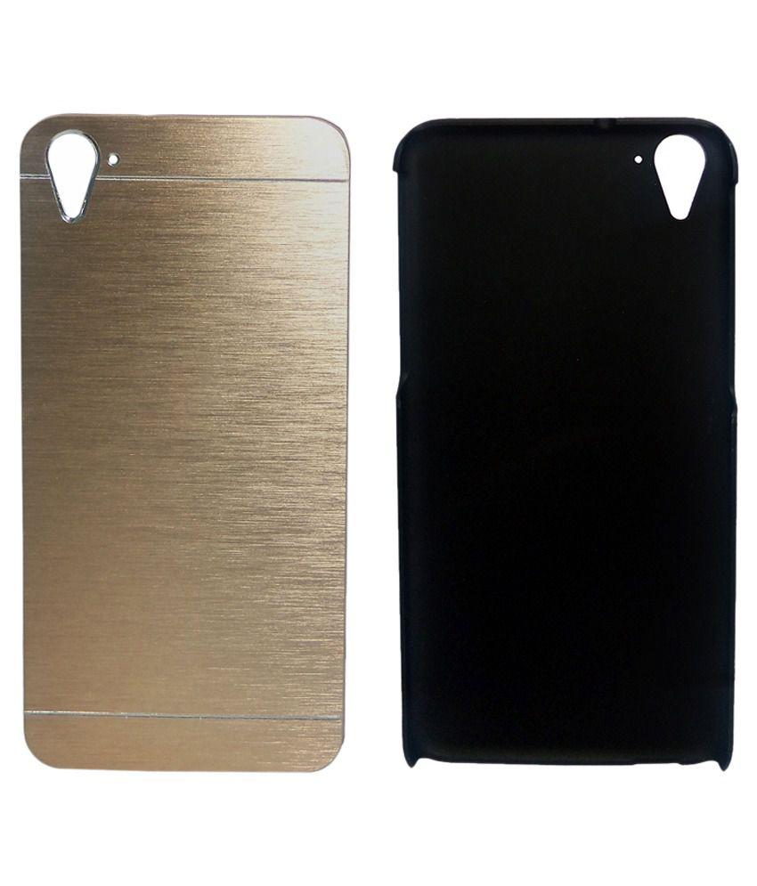 Totta Back Cover For HTC Desire 816 - Golden