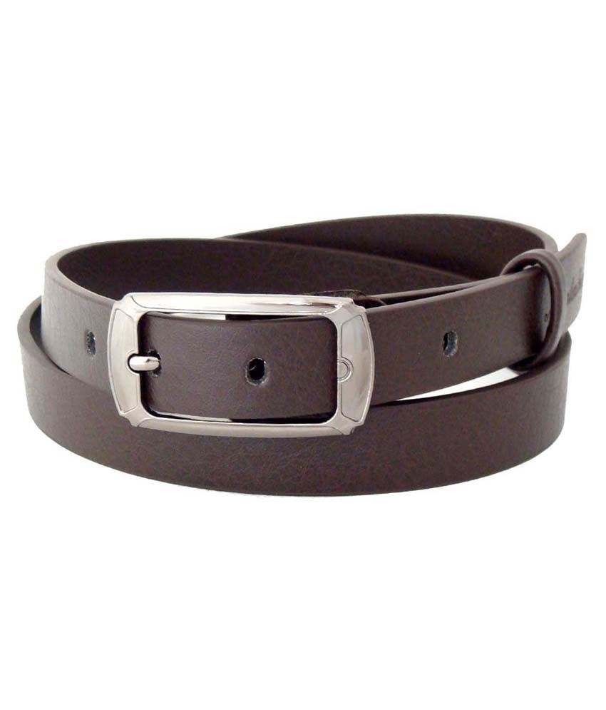 SFA Brown Formal Belt For Women