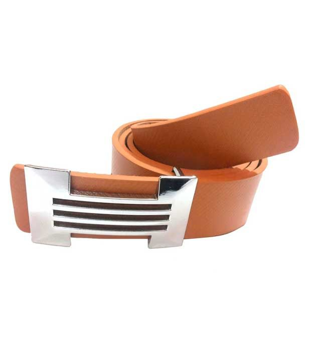 Mode Tan Leather Belt For Men