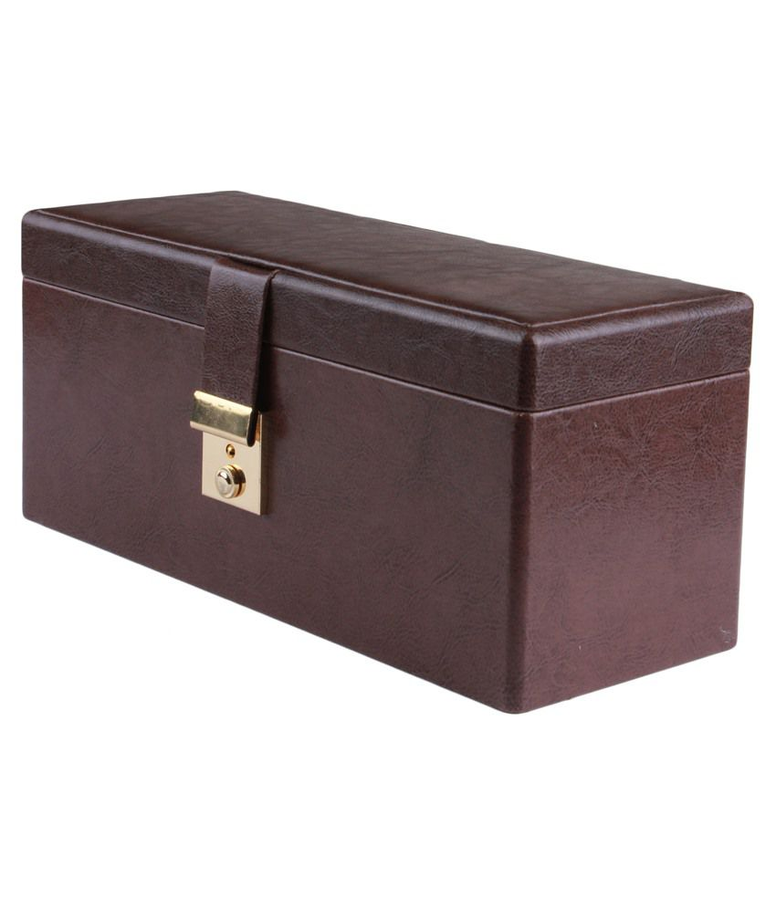 Uberlyfe Brown Jewellery Box