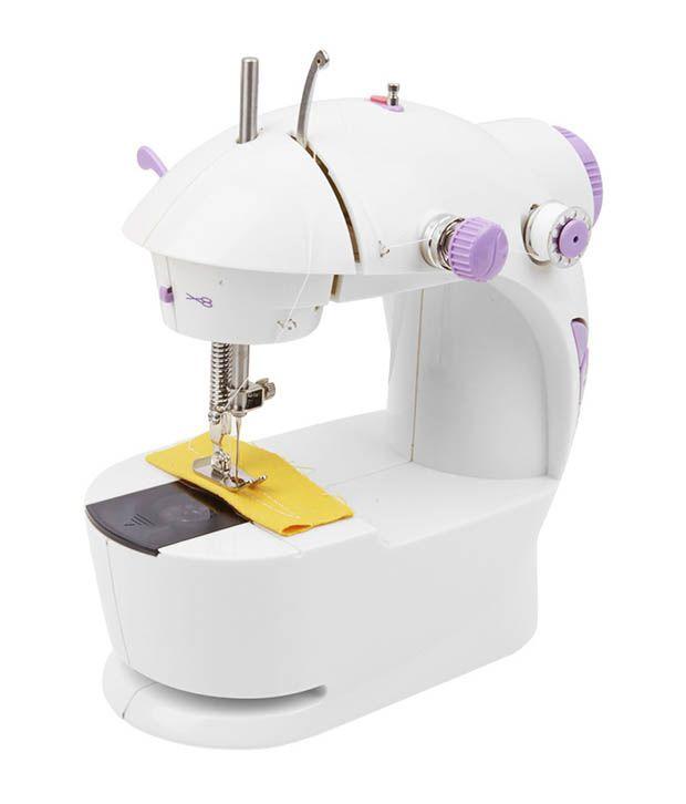 how to use mini sewing machine in hindi