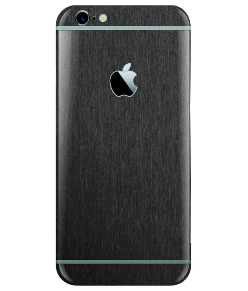 Stick_Me Front And Back Skin For Apple iPhone 6 And iPhone 6S - Black