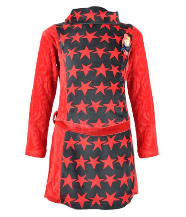 Akshadha Red Velvet Sweatshirt