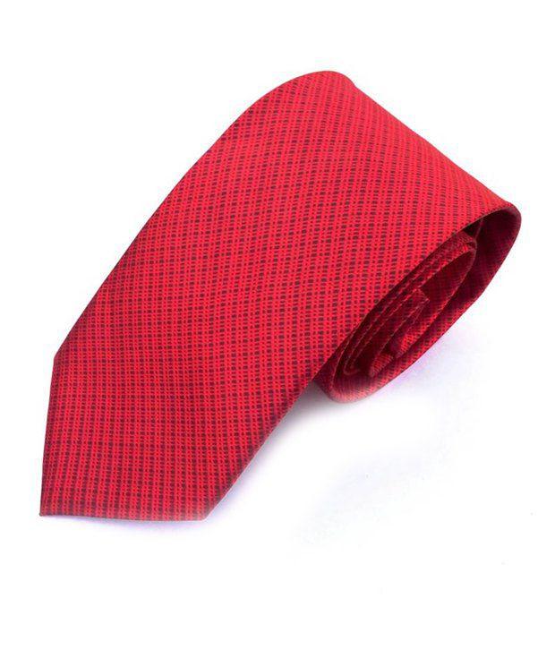 Btf Red Formal Micro Fiber Broad Ties