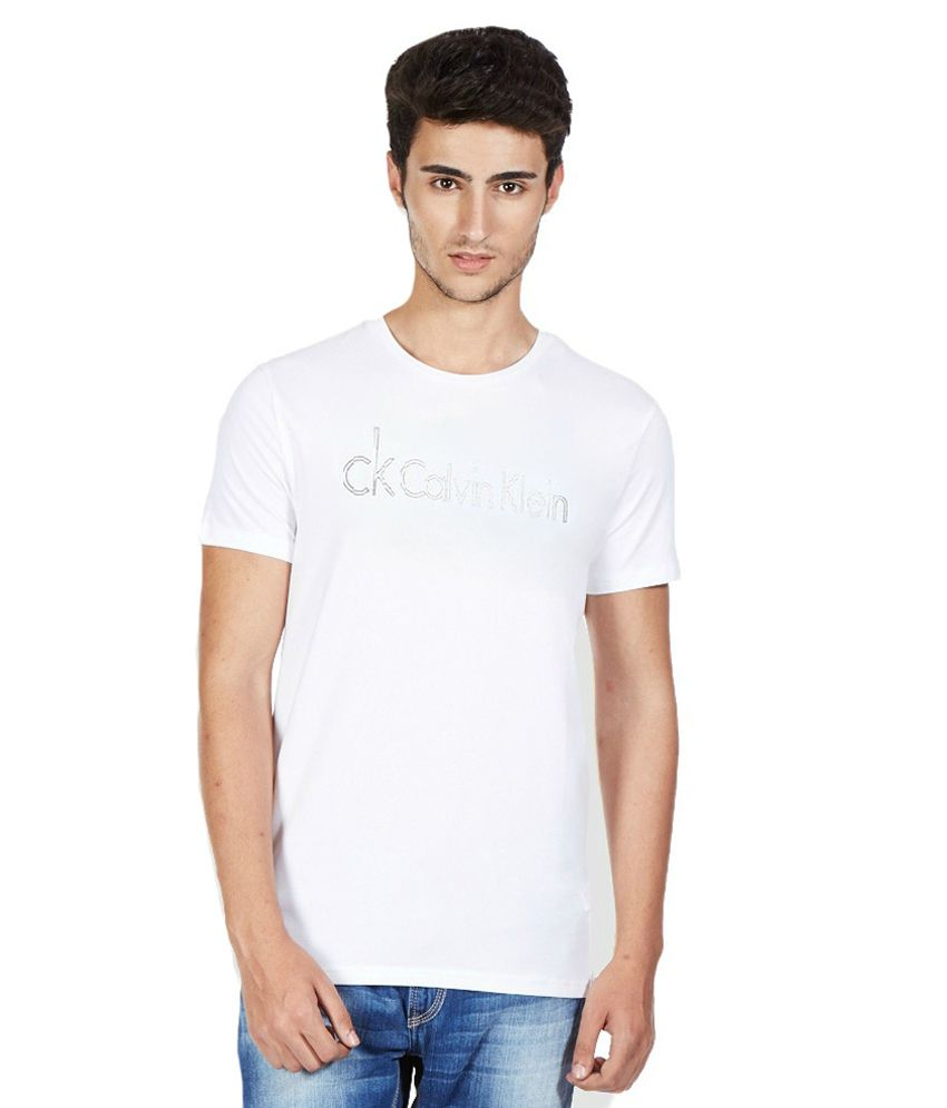 Sam Lifestyle White Cotton T-Shirt - Pack of 4
