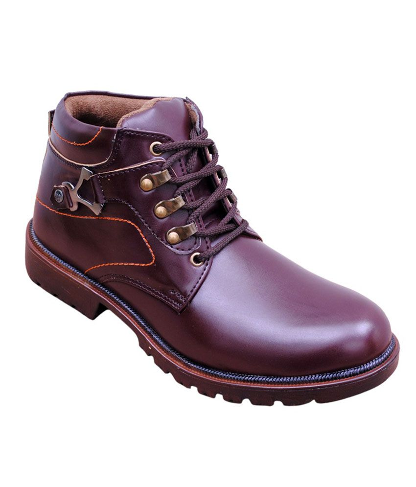Lee Grip Brown Boots