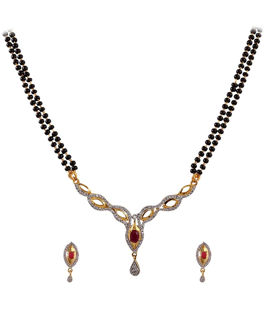 Ritus Collection Golden Alloy Mangalsutra Set