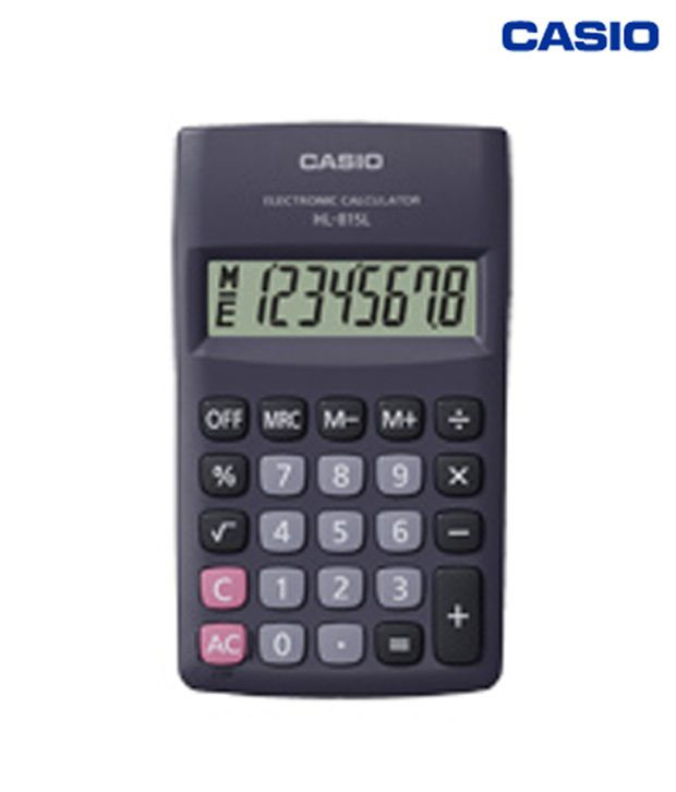 Casio Portable Type Calculator HL-815L