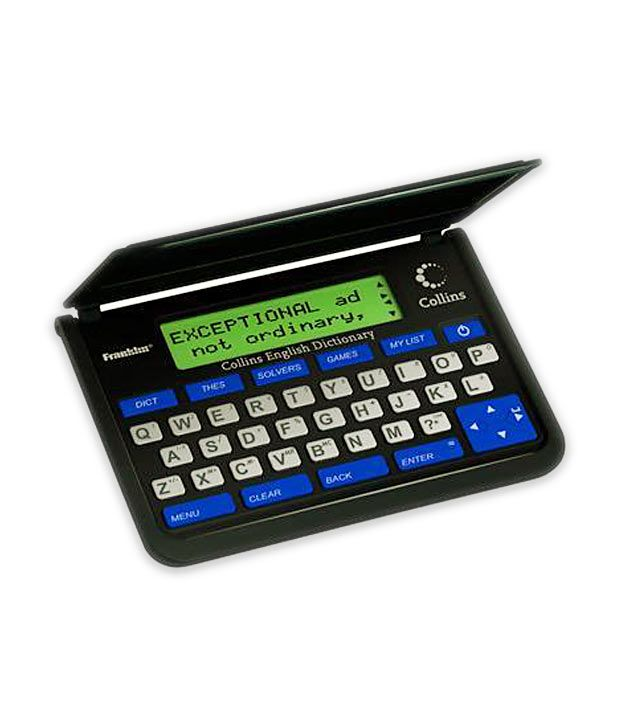 Franklin Collins Electronic Dictionary & Thesaurus (DMQ119)