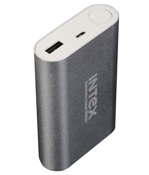 Intex Inpb4400b Li-ion 4001-5000 Power Bank - Gray