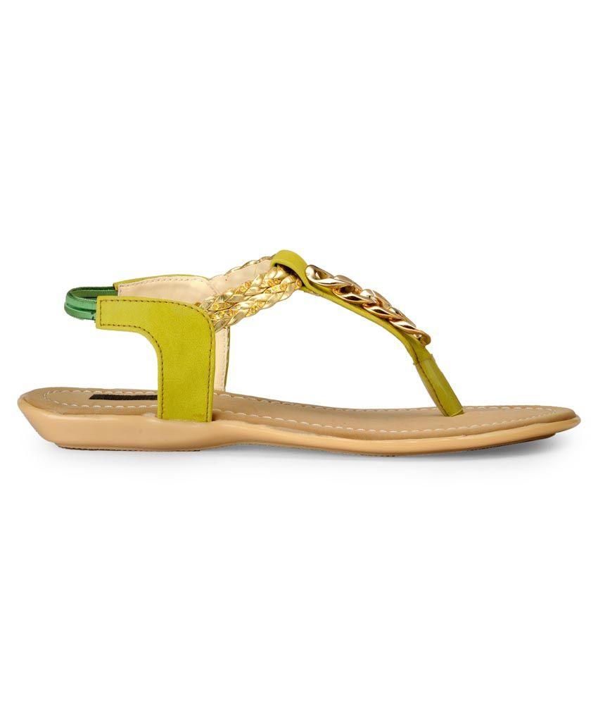 6b4c1c9f8b5 Payless Yellow Sandals Price in India- Buy Payless Yellow Sandals ...