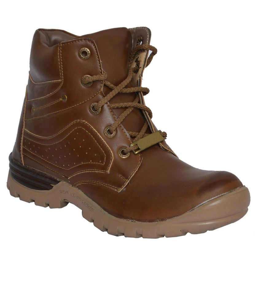 Zeppo Brown Boots