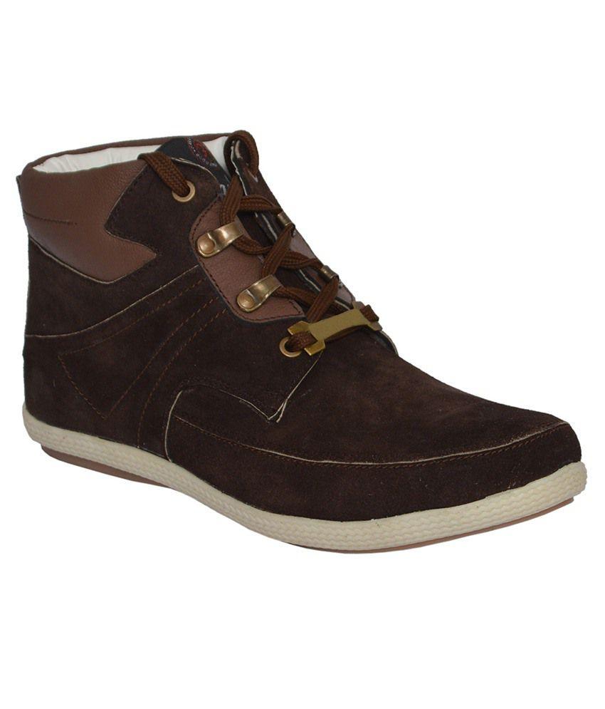 Zeppo Brown Boots