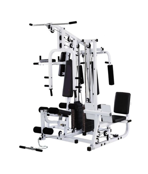 kamachi imported multi home gym 4 stations 300 pounds weight buy rh snapdeal com