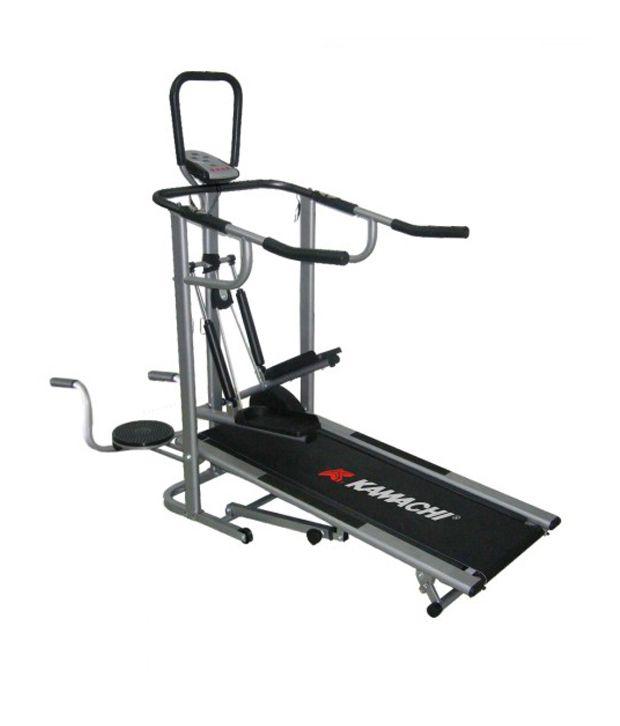 Cybex Treadmill Speed Calibration: Kamachi Branded 4 In 1 Manual Treadmill Jogger: Buy Online
