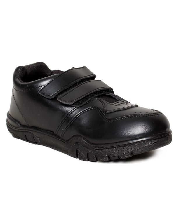 Bata Modest Black School Shoes For Kids