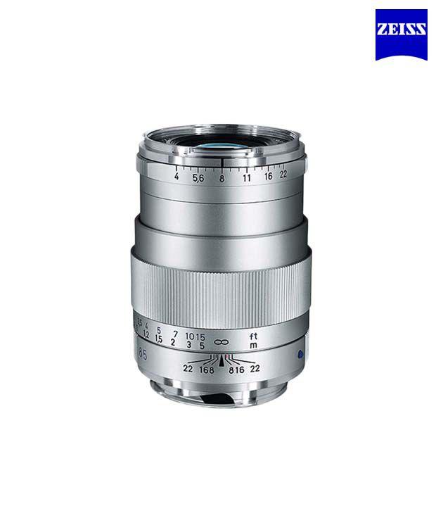 Carl Zeiss Tele Tessar 4/85 ZM  (Silver) ZM Lenses (M-Mount  Rangefinder) (1486-396)