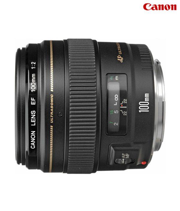 Canon -EF 100mm f/2 USM Lens
