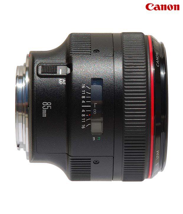 Canon -EF 85mm f/1.2 L II USM Lens