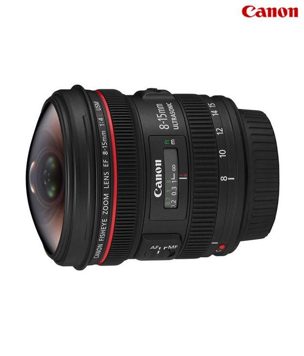 Canon -EF 8-15mm f/4L Fisheye Lens