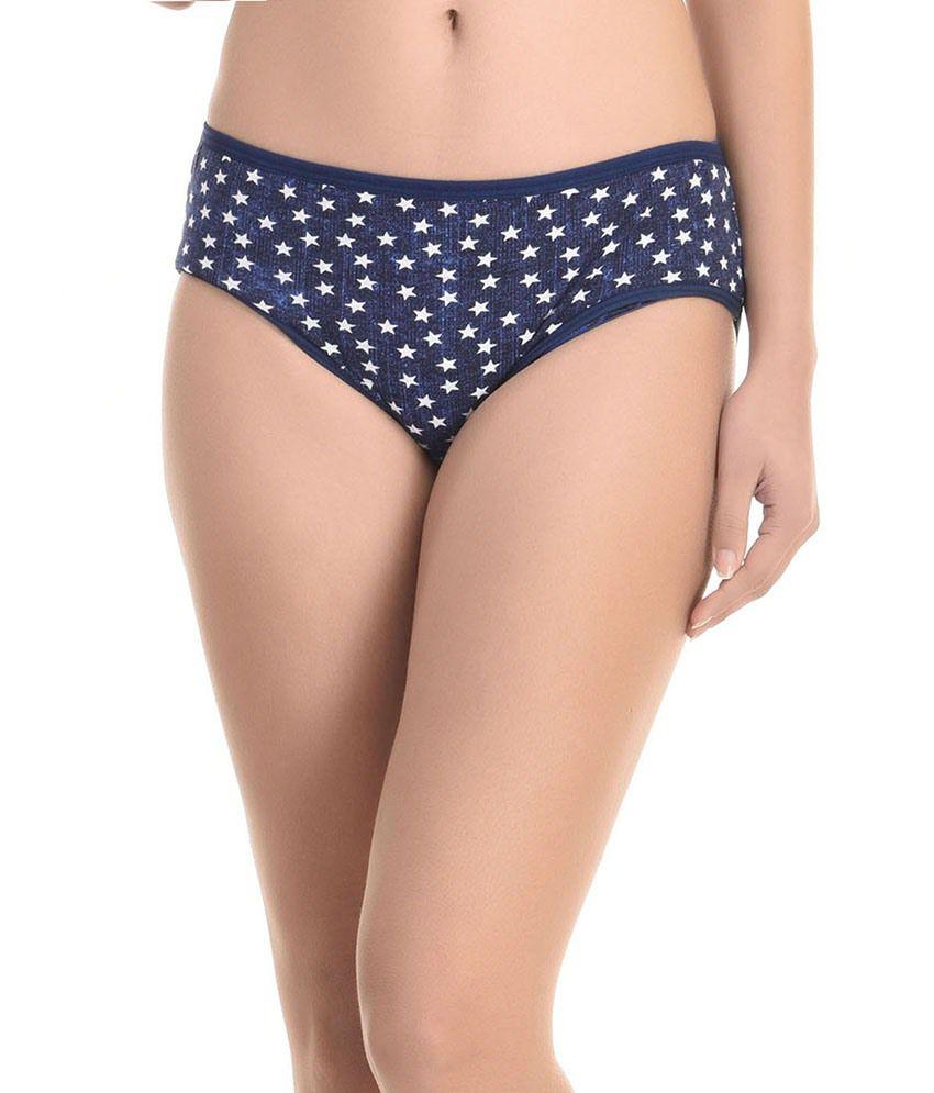 Blue Cotton Panties 117