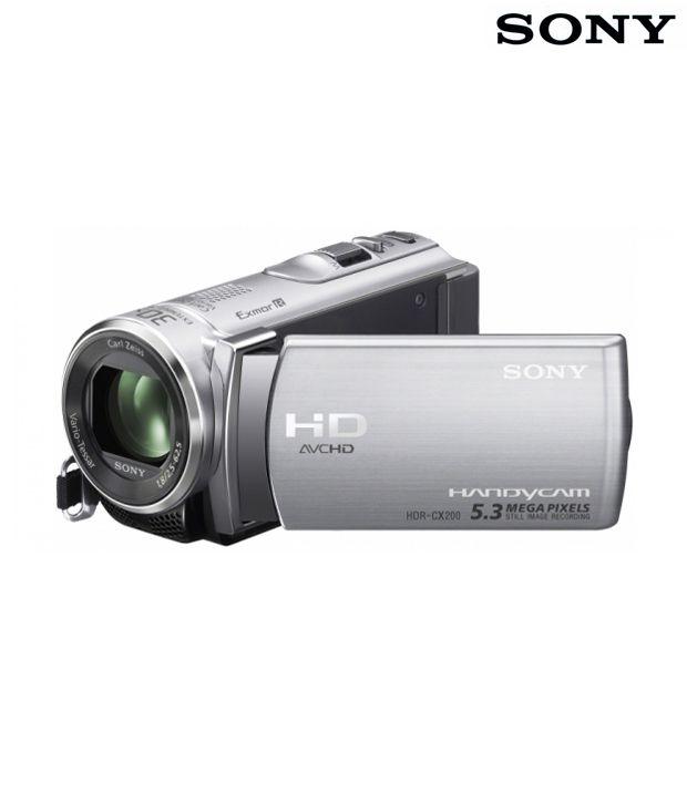 Sony HDR-CX200E Handycam (Silver)