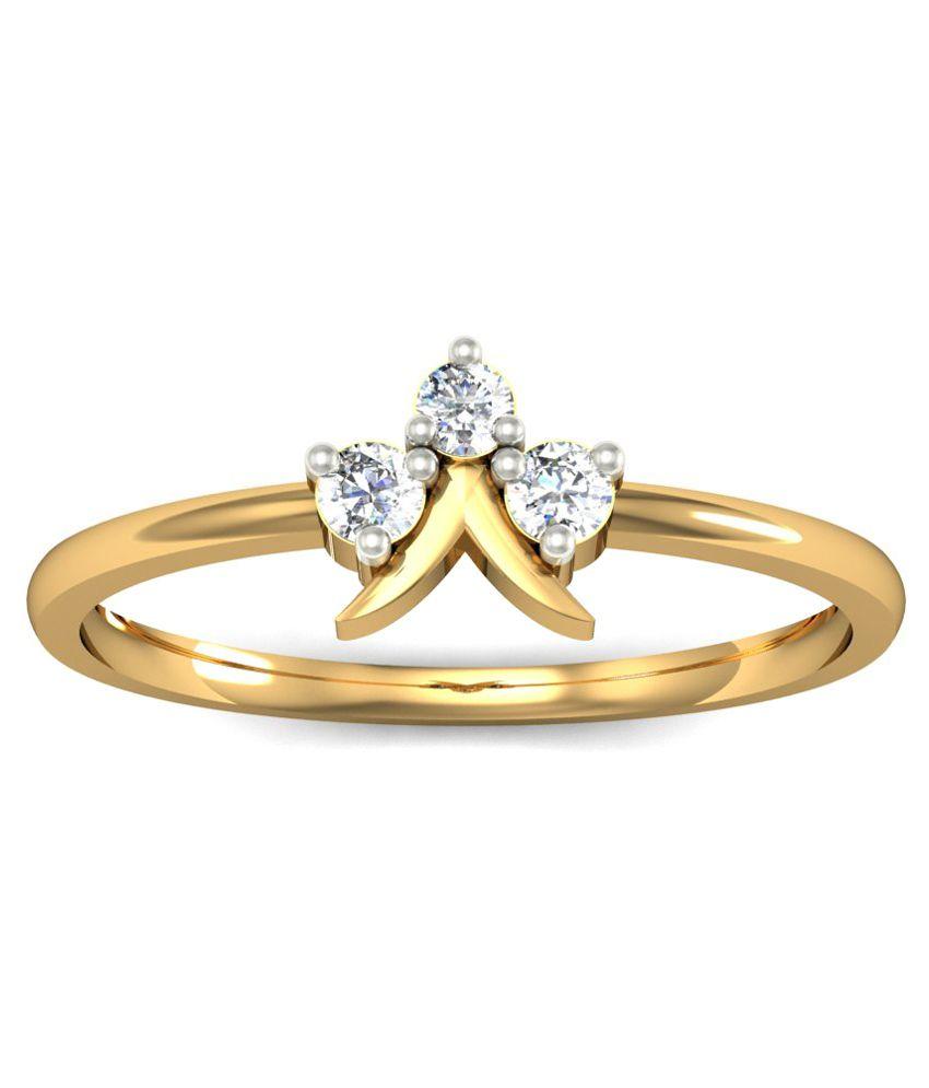 Jewelmantra 18kt Gold Ring
