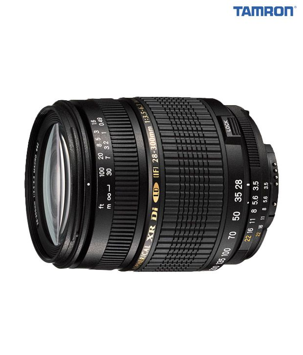 Tamron -A061 AF28-300 mm  F/3.5-6.3 XR Di LD Aspherical (IF)  Macro w/ hood (Canon)