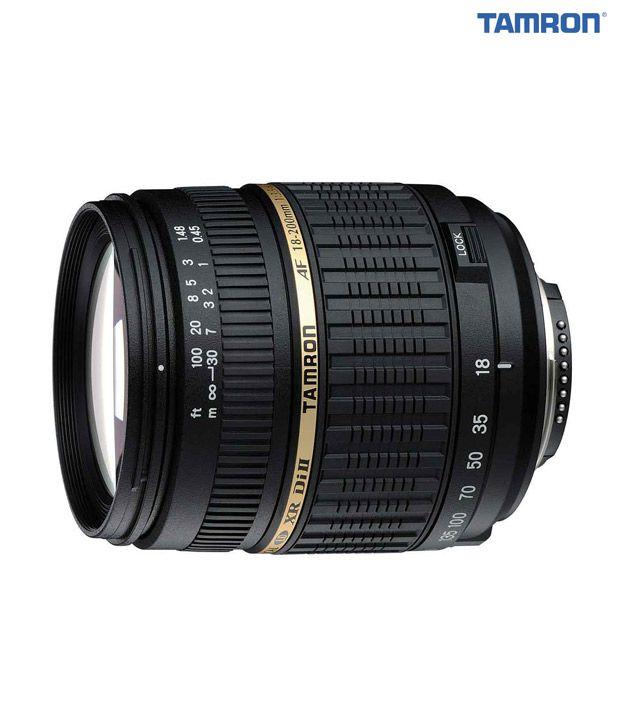 Tamron -A14 AF18-200  mm  F/3.5-6.3 XR Di-II LD Aspherical  (IF) Macro w/ hood(Nikon)