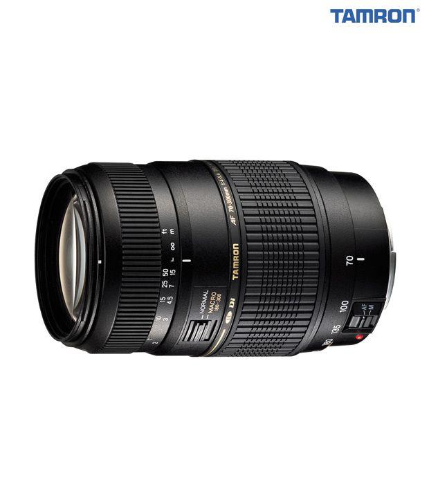 Tamron -A17 AF70-300  mm F/4-5.6  Di LD Macro w/ hood (Canon)