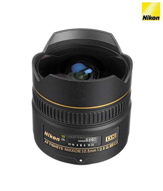 Nikon 10.5 mm f/2.8G ED Fisheye  AF DX Nikkor Lens (DX Format)