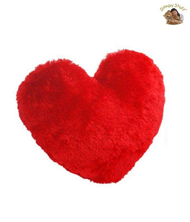 Valentine Heart-To-Heart Plush Cushion-35 cm
