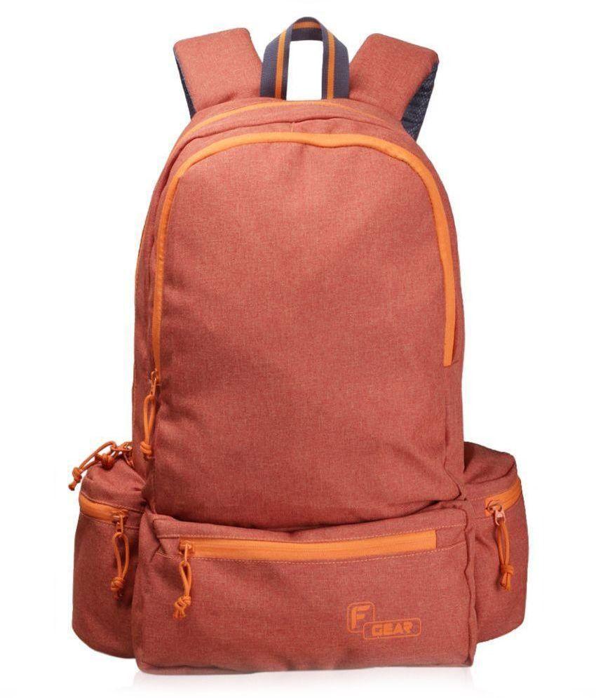 [Image: F-Gear-Orange-Polyester-Backpack-SDL0409...-8d542.jpg]
