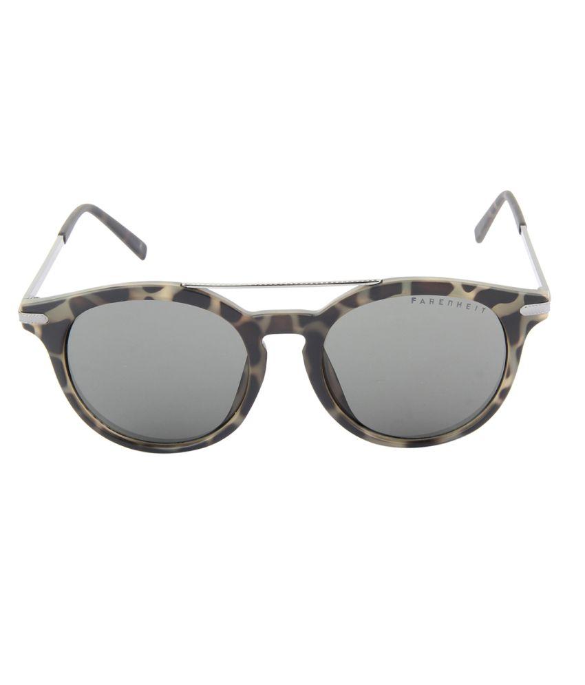 f7c22c09204 Farenheit Gray Medium Round Sunglasses For Women Farenheit Gray Medium Round  Sunglasses For Women ...