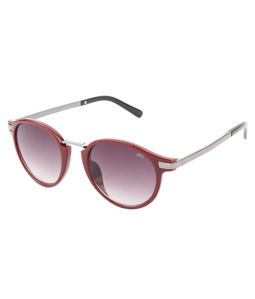 7b8e3d550ba Farenheit Purple Small Round Sunglasses For Men   Women - Buy Farenheit  Purple Small Round Sunglasses For Men   Women Online at Low Price - Snapdeal