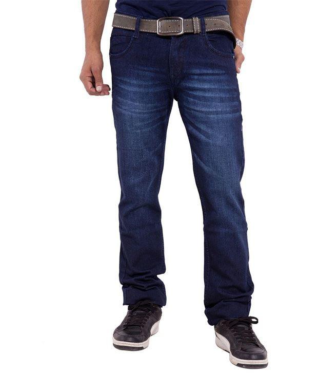Urban Faith Navy Regular Fit Jeans