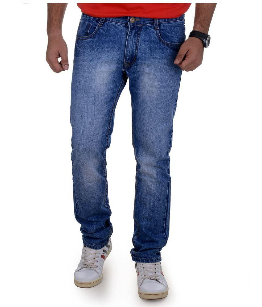 Benmartin Blue Regular Fit Jeans