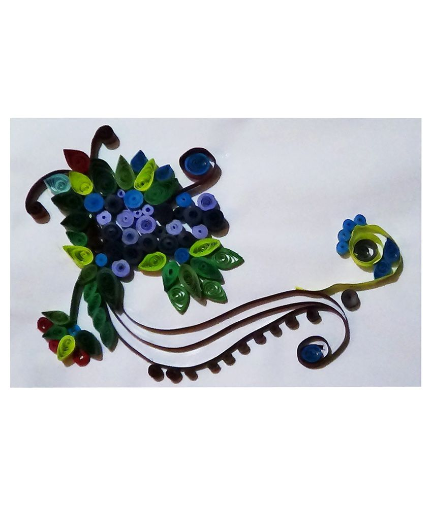 Wall Hanging Paper Quilling Flower Buy Wall Hanging Paper Quilling