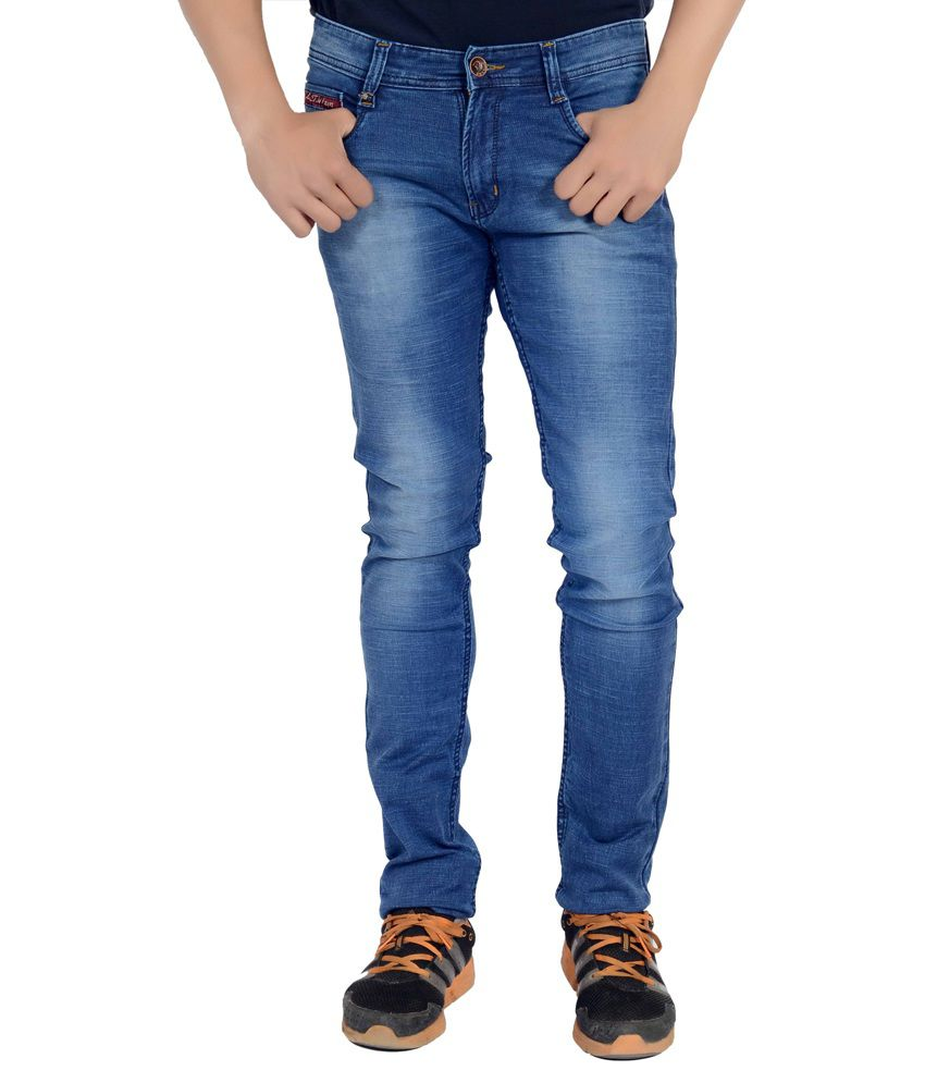 Dustin Jeans Blue Slim Fit Jeans