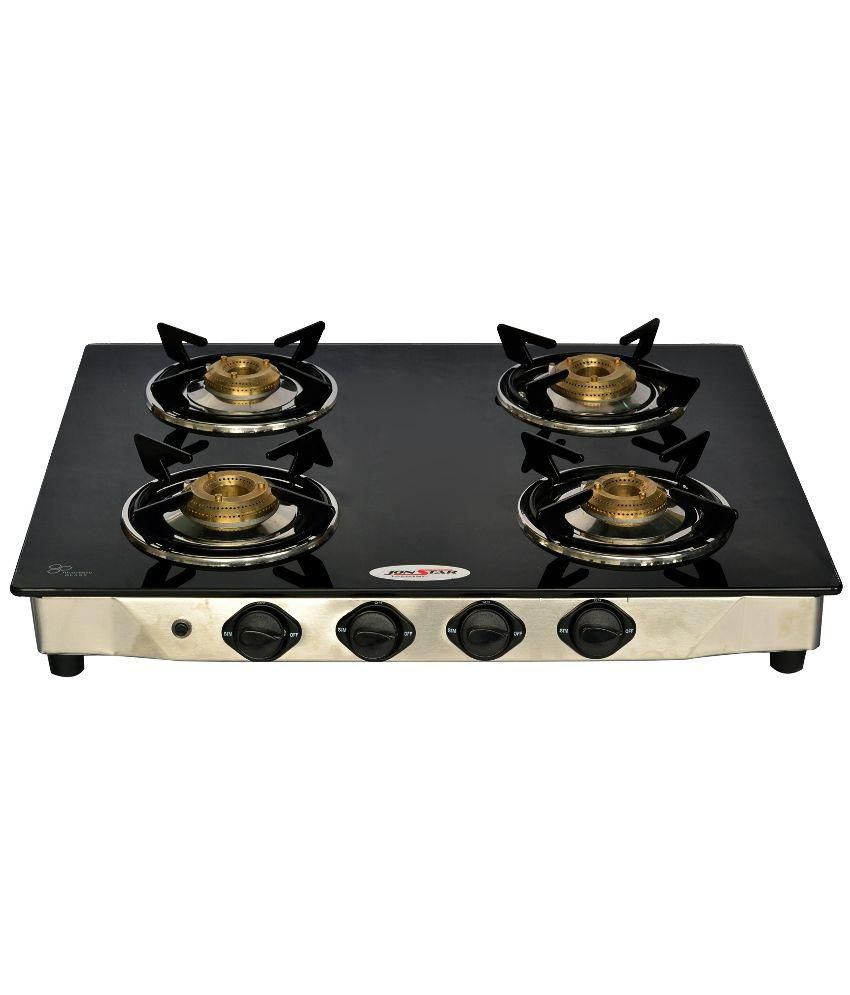 Jonstar JS-4GTYSB Auto Ignition Gas Stove (4 Burner)