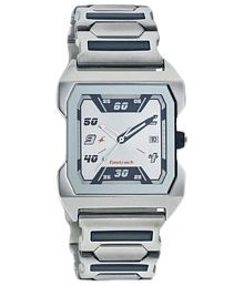 Fastrack Silver Strap Casual Analogue Wrist Watch