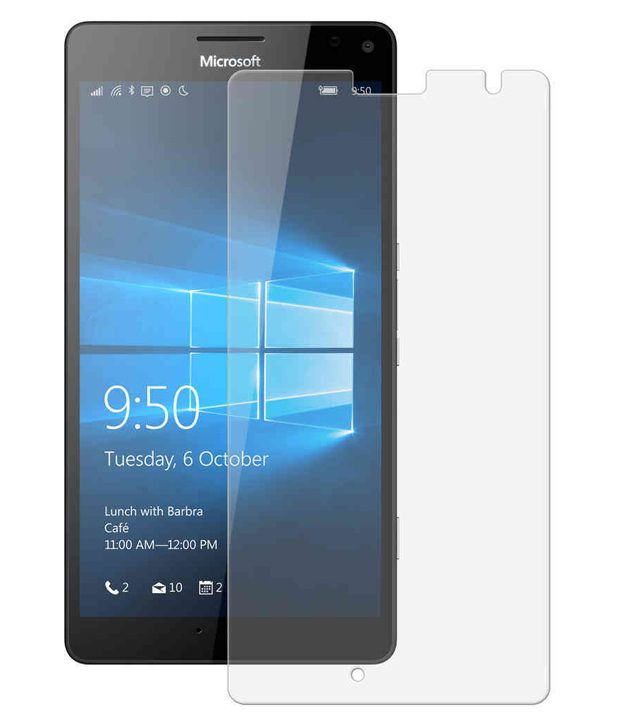 Microsoft Lumia 640 Xl Tempered Glass Screen Guard by Blaze