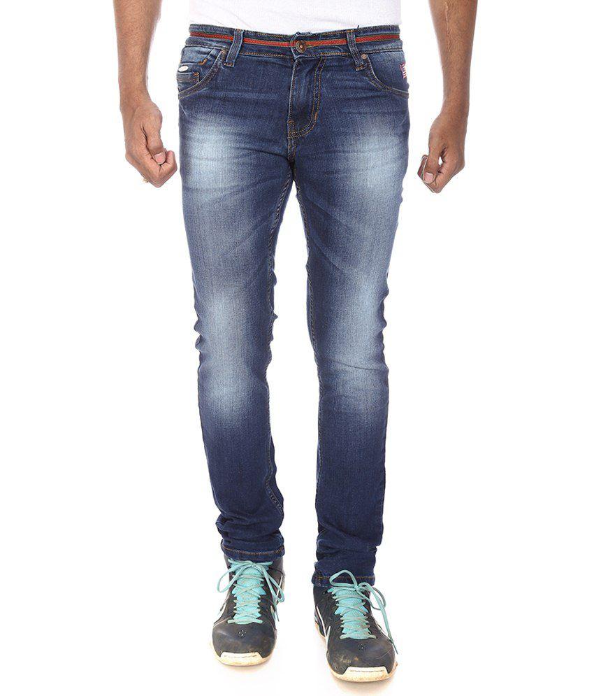 Official League Blue Slim Fit Jeans